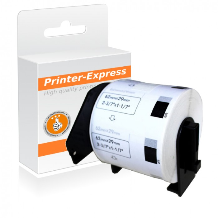 Etiketten kompatibel zu DK-11209, DK11209 62x29mm 800 Stück