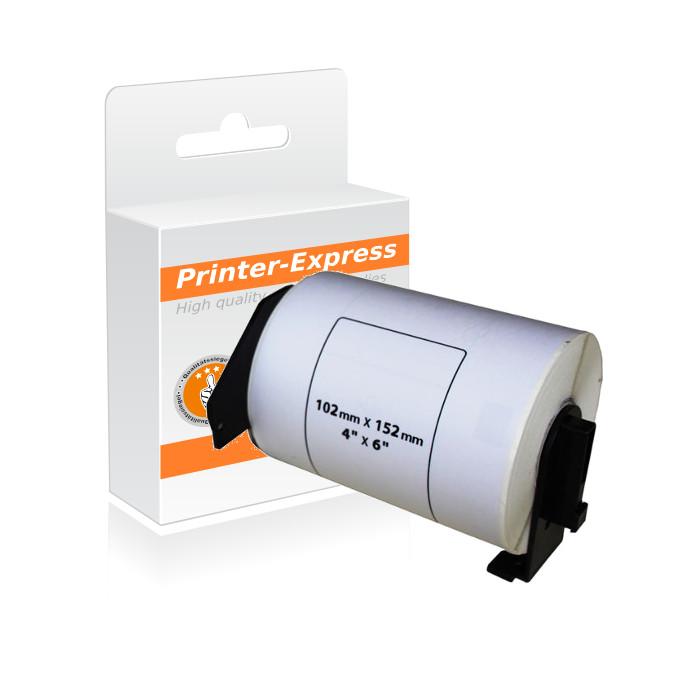 Etiketten kompatibel zu DK-11241, DK11241 102x152mm 200...