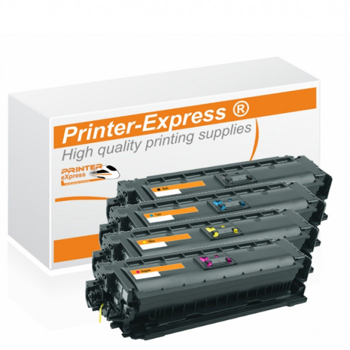 Toner 4er Set alternativ zu HP CF360X, CF361X, CF362X,...