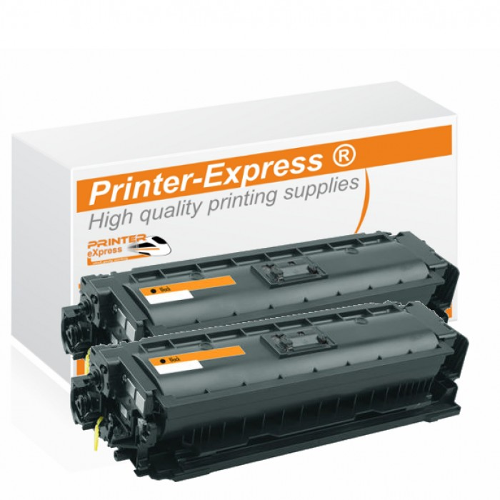 Toner 2er Set alternativ zu HP CF360X, 508X, 508A für HP...