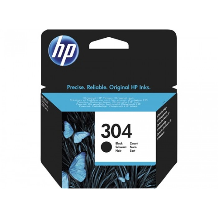 HP 304 Druckerpatrone black N9K06AE