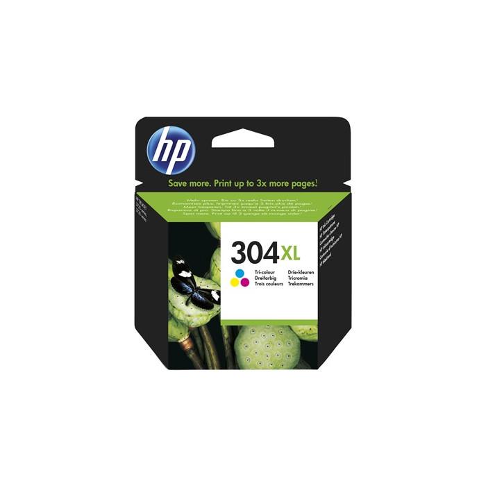 HP 304 XL Druckerpatrone color N9K07AE