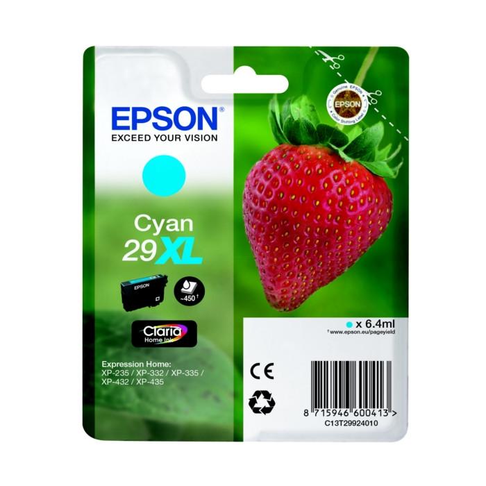Epson T2992, 29XL Druckerpatrone cyan