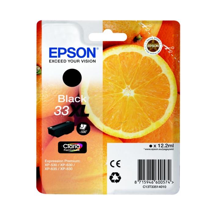 Epson T3351, 33XL Druckerpatrone black