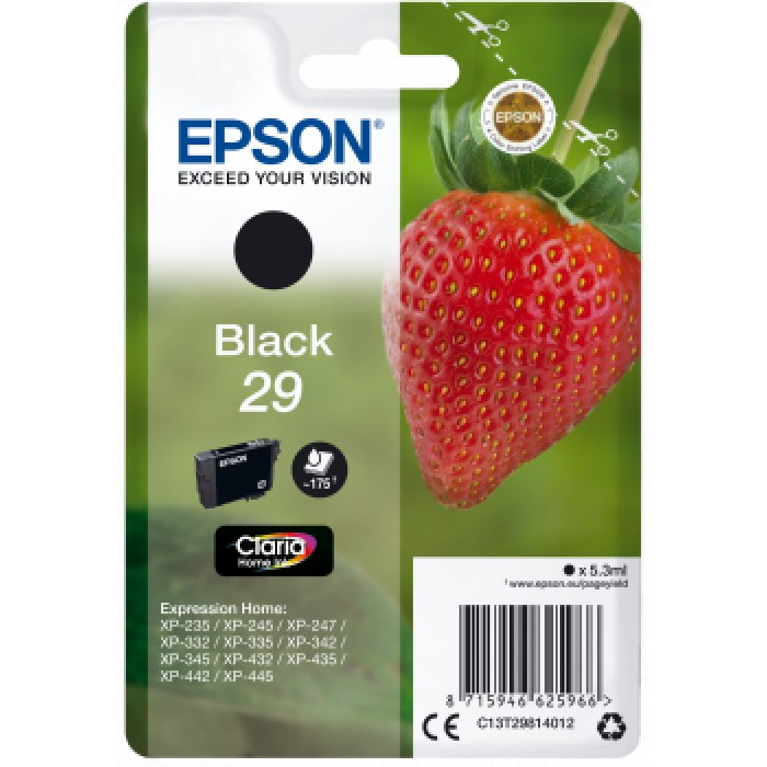 Epson T2981, 29 Druckerpatrone black