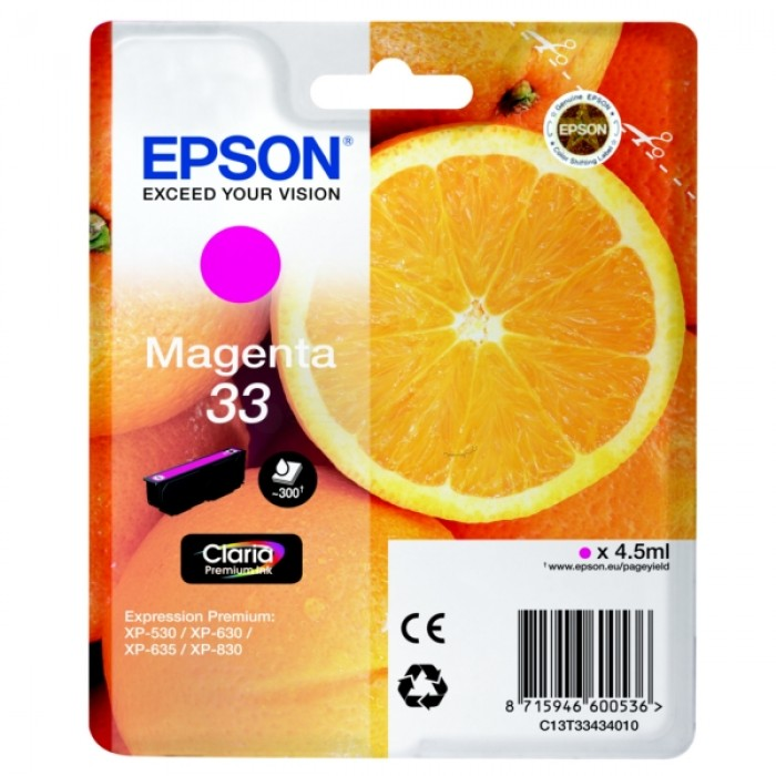 Epson T3343, 33 Druckerpatrone magenta