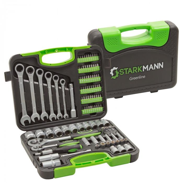 Starkmann Werkzeug 104-Teilig Greenline