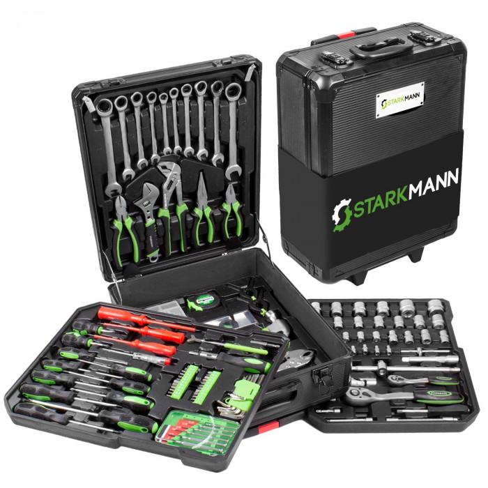 Starkmann Werkzeug 399-Teilig Blackline