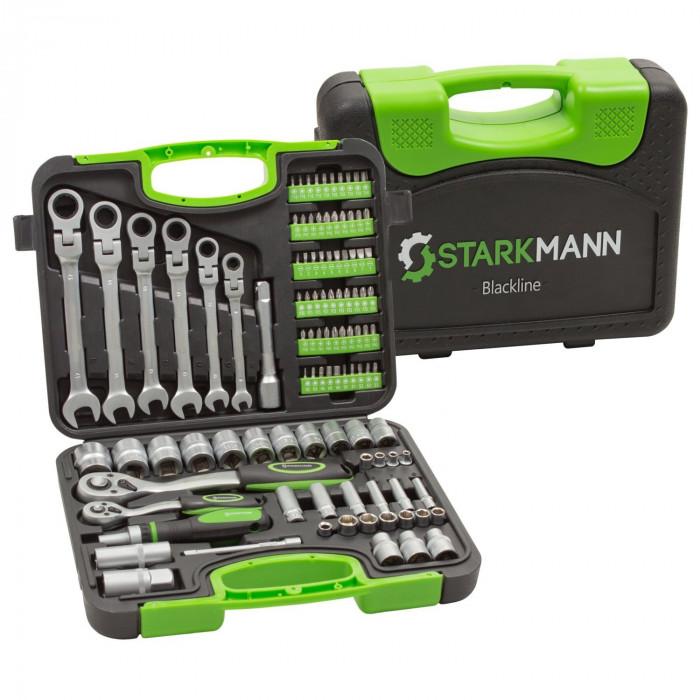 Starkmann Werkzeug 104-Teilig Blackline