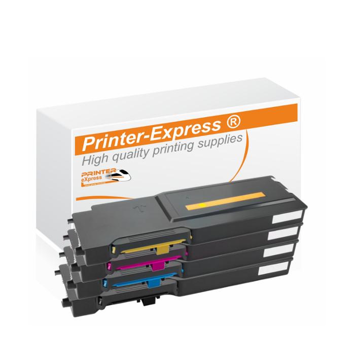 Toner 4er Set alternativ zu Xerox 6600 Serie für Xerox...