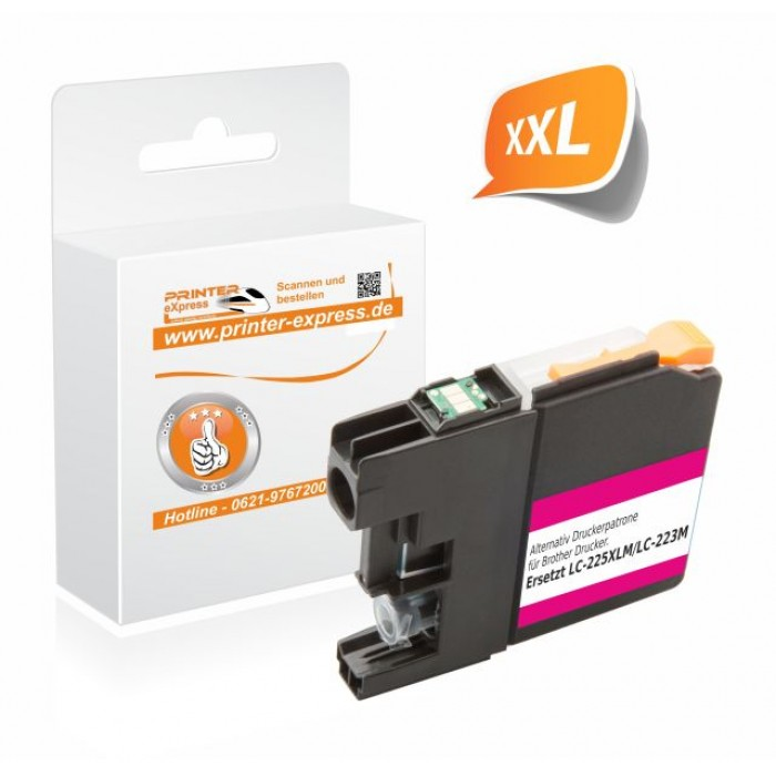 Printer-Express Druckerpatrone ersetzt Brother LC-223M...