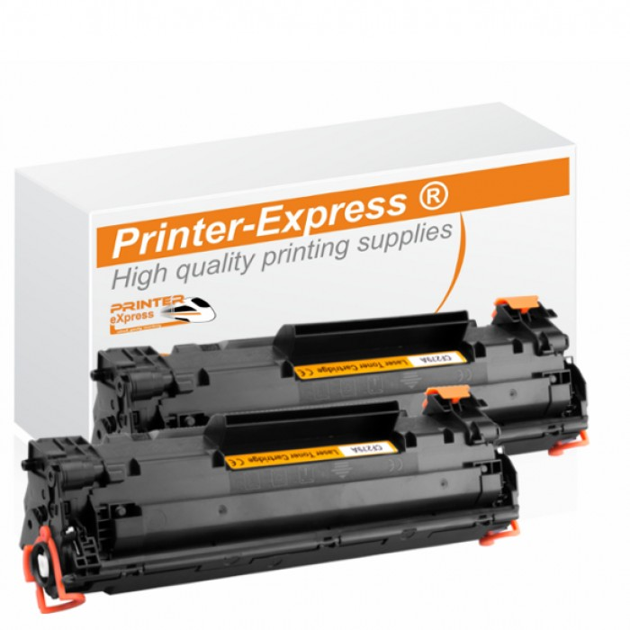 Toner 2er Set alternativ zu HP CF279A, CF279 A, 79A für...