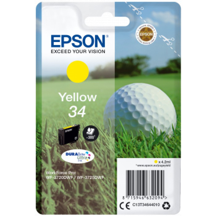 Epson T3464, 34 Druckerpatrone gelb