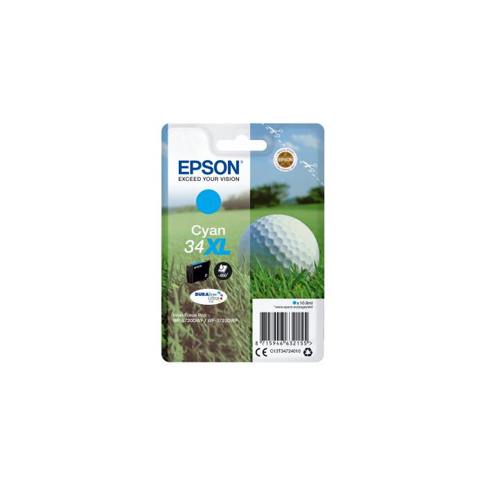 Epson T3472, 34XL Druckerpatrone cyan