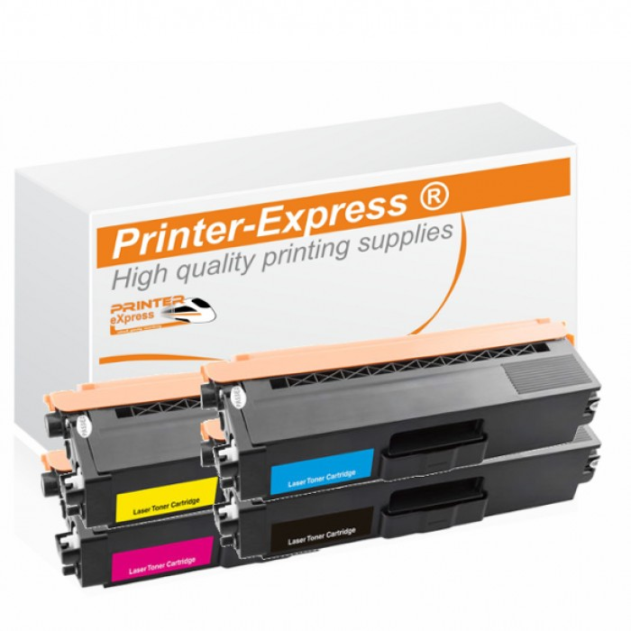 Toner 4er Set alternativ zu Brother TN-421, TN-423 für...