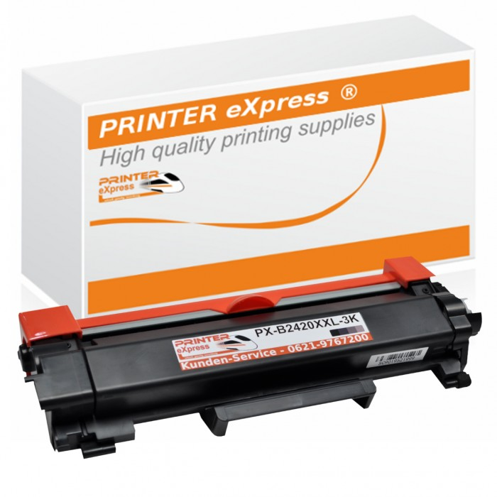 Alternativ Brother Toner TN-2420 schwarz mit Chip