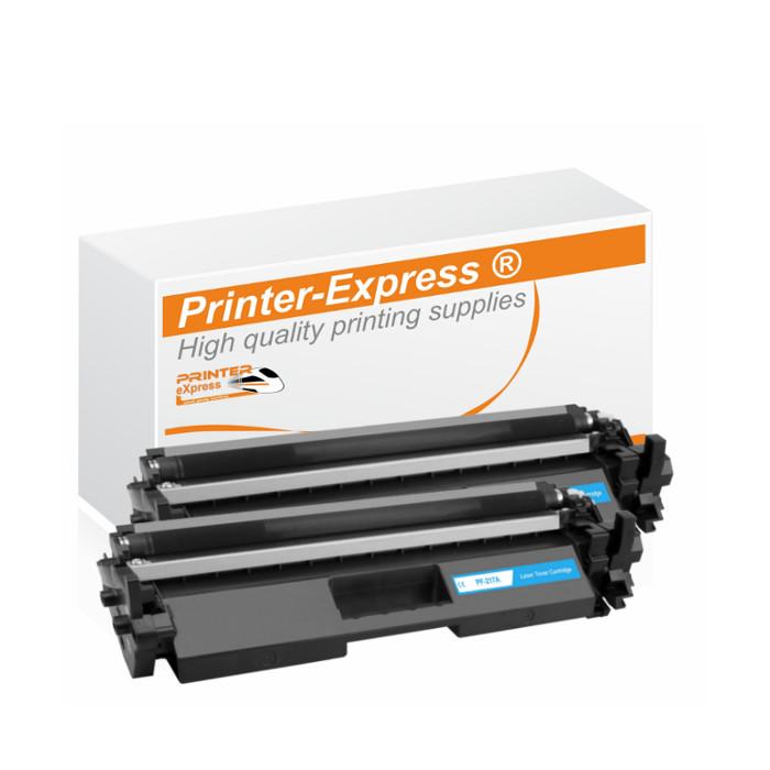 Toner 2er Set alternativ zu HP CF217A, 17A für HP Drucker...