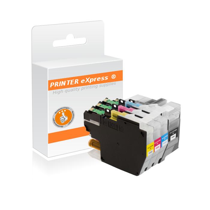 Druckerpatronen 4er Set ersetzt Brother LC-3219, LC-3217