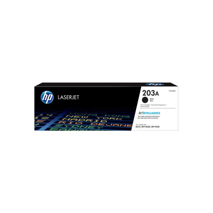 HP CF540A, 203A Toner schwarz