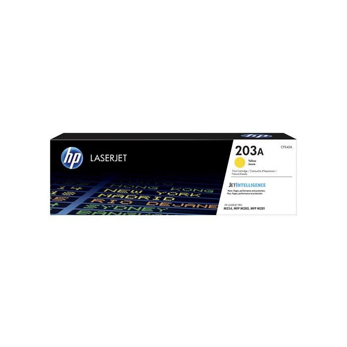 HP CF542A, 203A Toner gelb