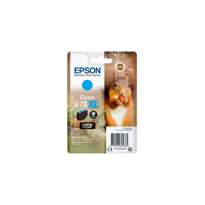 Epson T3792, 378XL Tintenpatrone cyan
