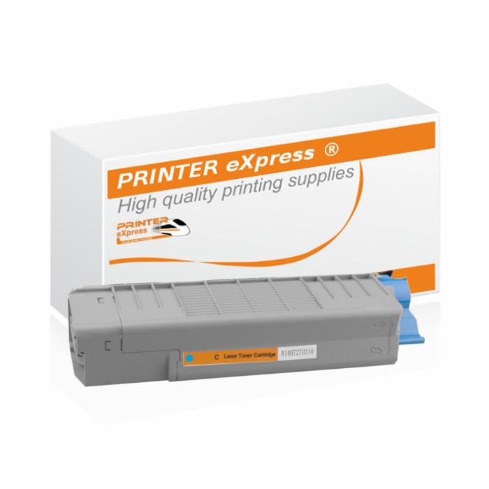 Toner alternativ zu OKI 46507507, C612 für OKI Drucker cyan
