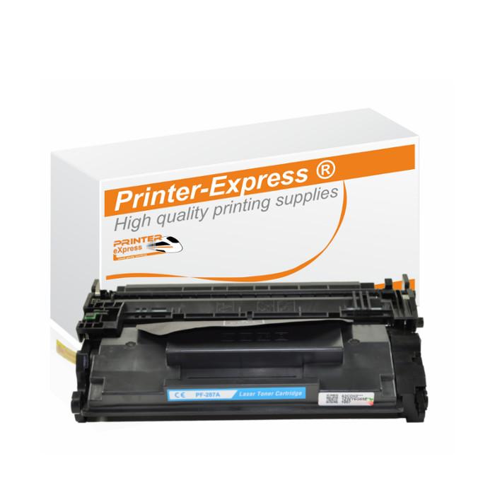 Toner alternativ zu HP CF287X, 87X für HP Drucker schwarz