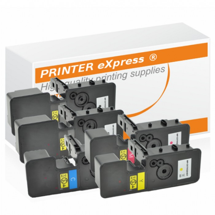 Toner 5er Set alternativ für Kyocera TK-5240, TK5240 Drucker