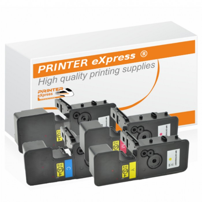 Toner 4er Set alternativ für Kyocera TK-5240, TK5240 Drucker