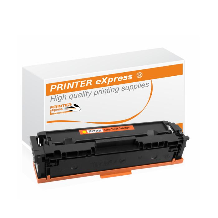 Toner alternativ zu HP CF542X, 203X für HP Drucker gelb