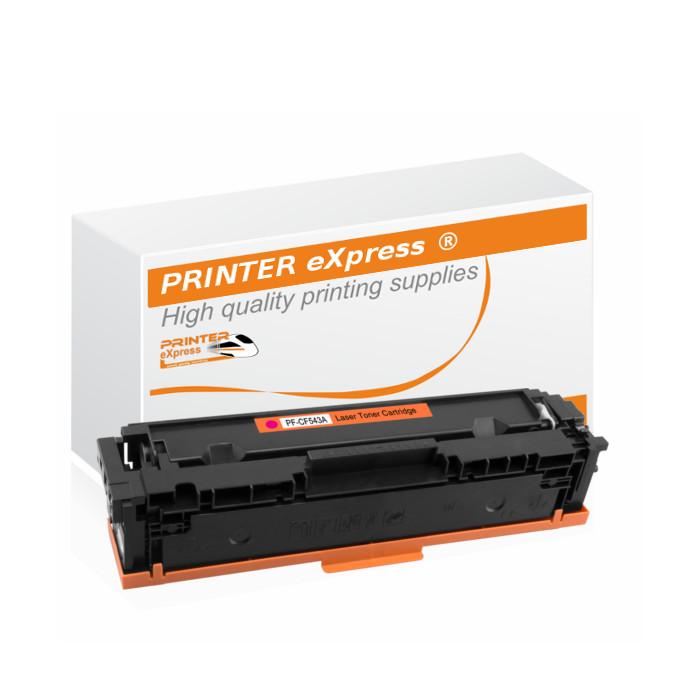 Toner alternativ zu HP CF543X, 203X für HP Drucker magenta