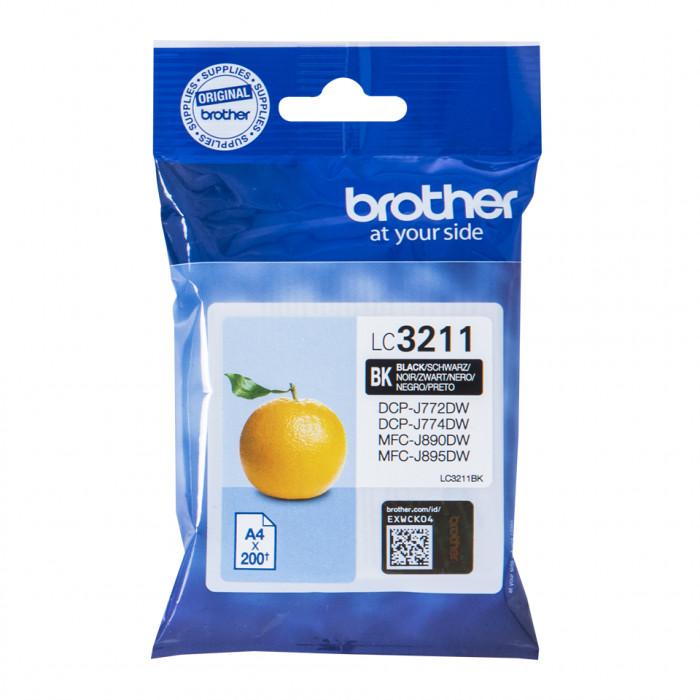 Brother LC-3211BK, 3211 Tintenpatrone schwarz