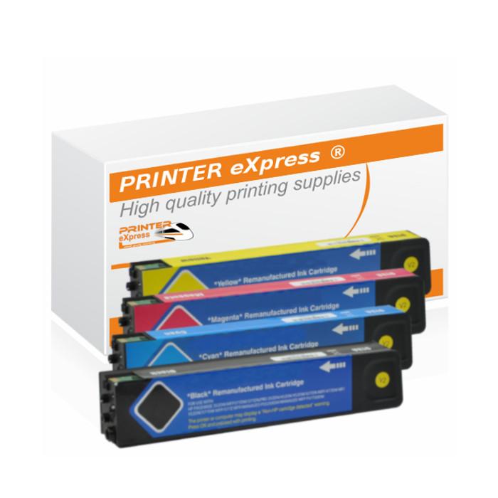Druckerpatronen 4er Set ersetzt HP 973X, 973