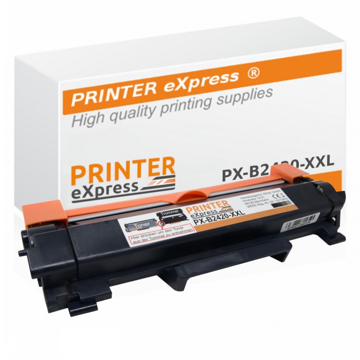 Alternativ Brother Toner TN-2420 XXL schwarz mit Chip
