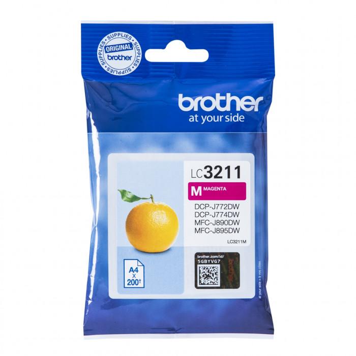 Brother LC-3211M, LC3211 Tintenpatrone magenta