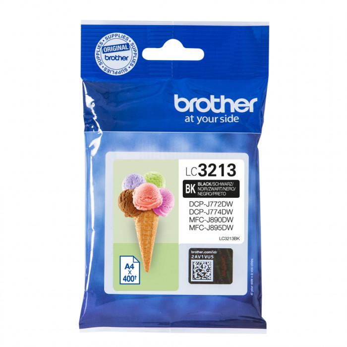 Brother LC-3213BK, LC3213 Tintenpatrone schwarz