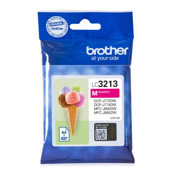 Brother LC-3213M, LC3213 Tintenpatrone magenta
