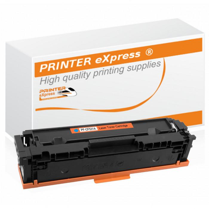 Toner alternativ zu HP CF531A, 205A für HP Drucker cyan