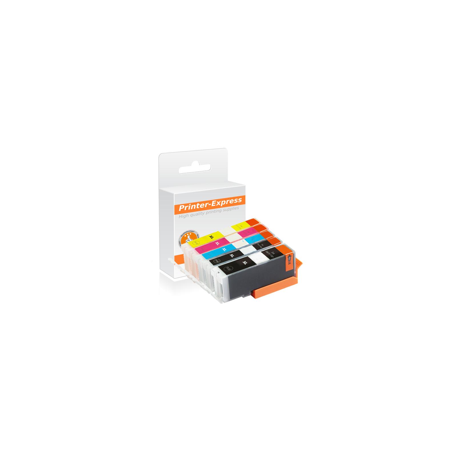 patronen 5er set ersetzt canon pgi 580 cli 581 xxl printer express 59 85. Black Bedroom Furniture Sets. Home Design Ideas