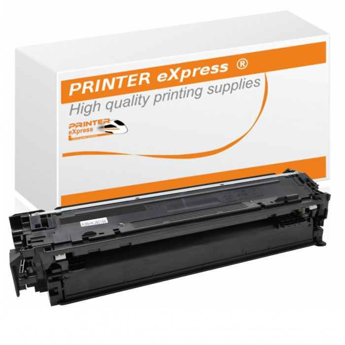 Toner 4er Set alternativ zu HP CE740A, CE741A, CE742A,...