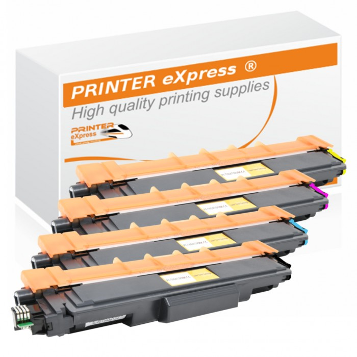 Toner 4er Set alternativ zu Brother TN-247, TN-243