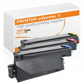 Toner 4er Set alternativ für Kyocera TK-5270, TK5270 Drucker