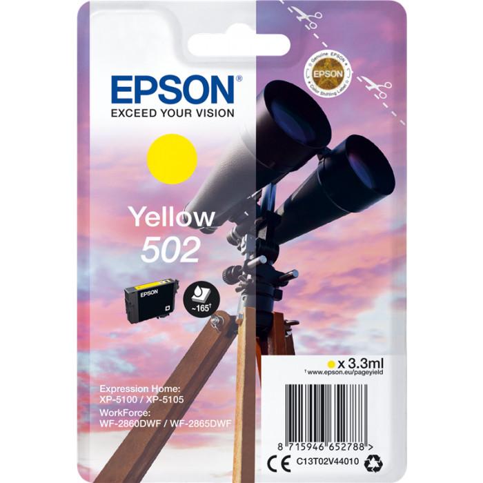 Epson 502, C13T02V44010 Druckerpatrone gelb