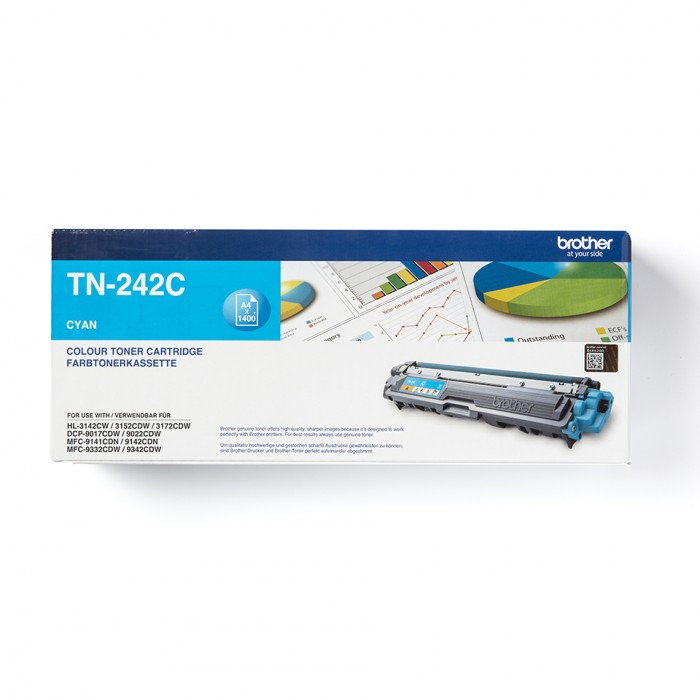 Brother TN-242C Toner Cyan