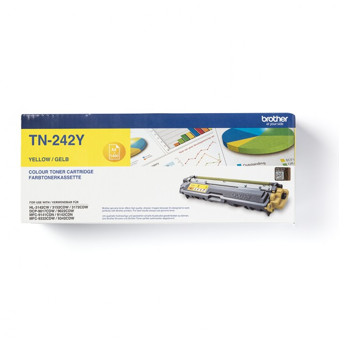 Brother TN-242Y Toner Gelb