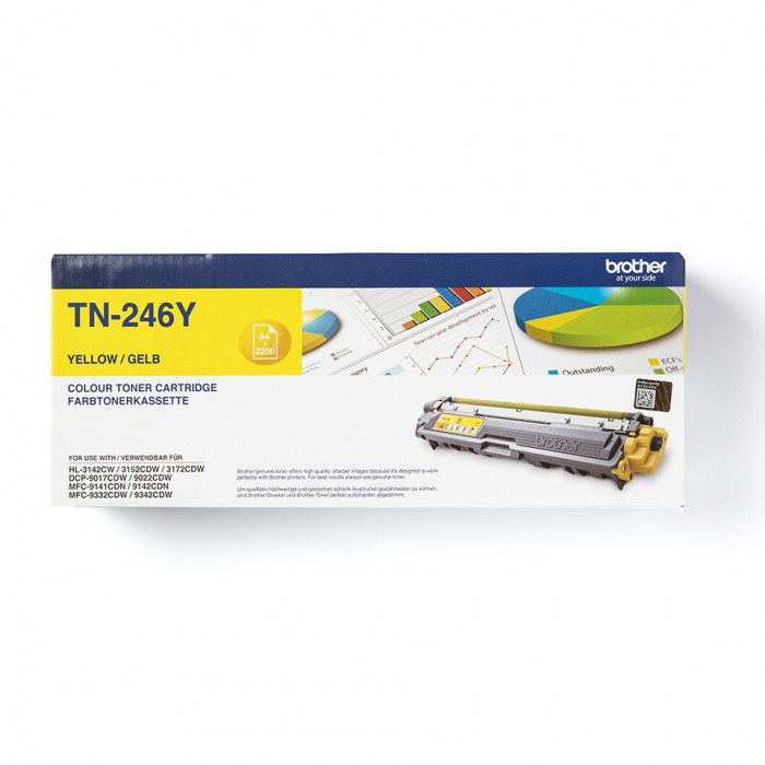 Brother TN-246Y Toner Gelb