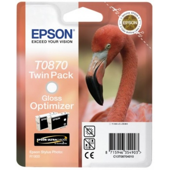 Twinpack Gloss Optimizer T0870 Ultra Gloss High-Gloss 2