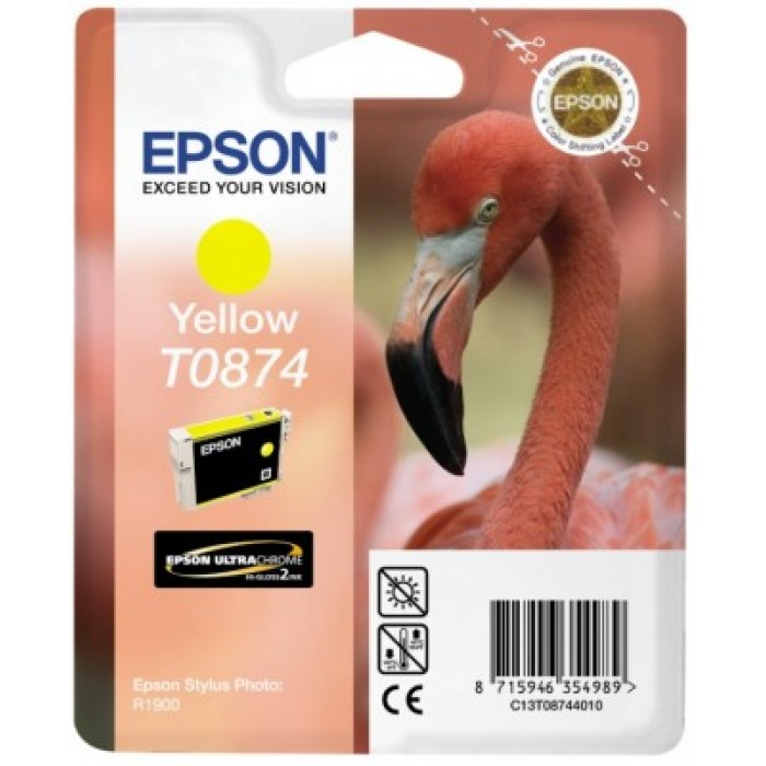 Epson T0874 Druckerpatrone yellow Ultra Gloss High-Gloss 2