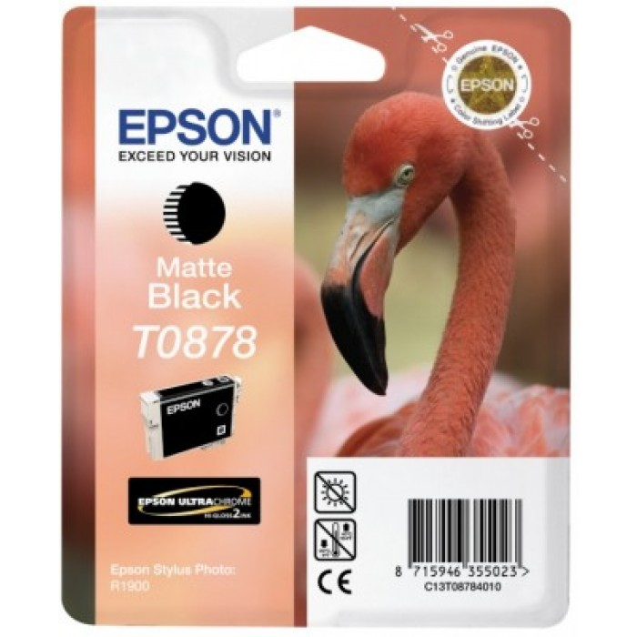 Epson T0878 Druckerpatrone matte black Ultra Gloss...