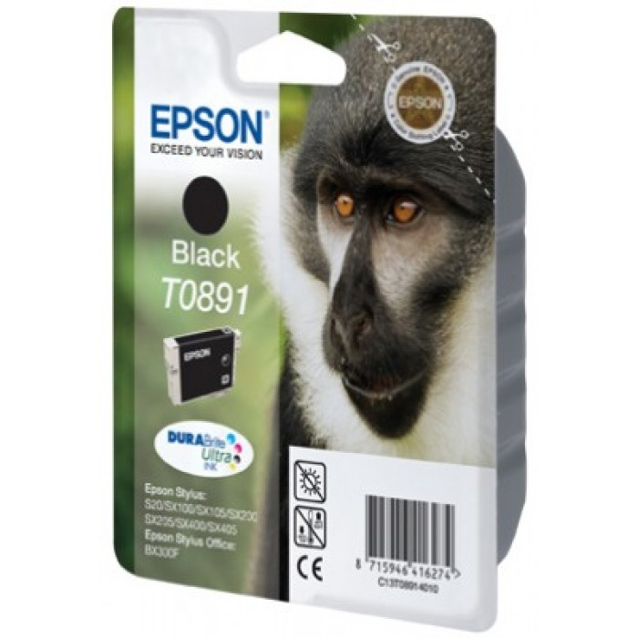 Epson T0891 Druckerpatrone black Durabrite Ultra Tinte